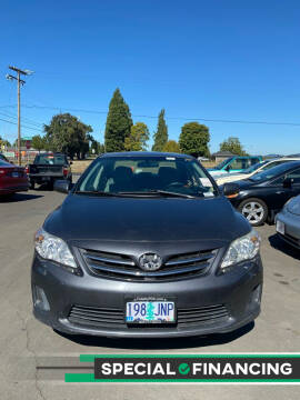 2013 Toyota Corolla for sale at M AND S CAR SALES LLC in Independence OR