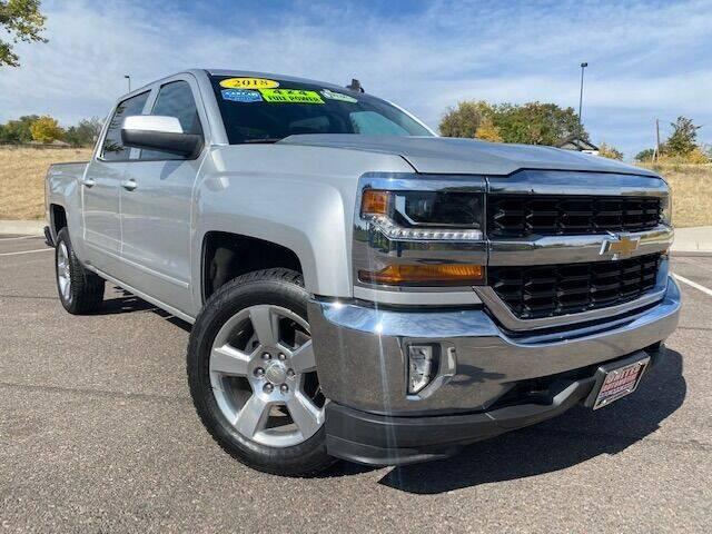 2018 Chevrolet Silverado 1500 for sale at UNITED Automotive in Denver CO