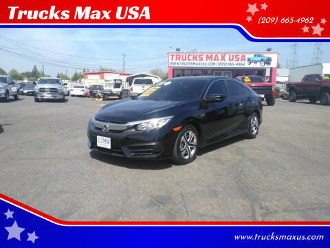 2018 Honda Civic for sale at Trucks Max USA in Manteca CA