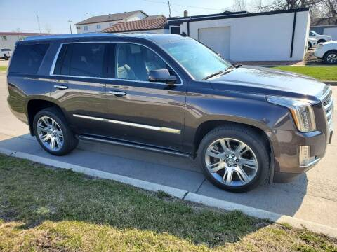 2015 Cadillac Escalade for sale at GOOD NEWS AUTO SALES in Fargo ND