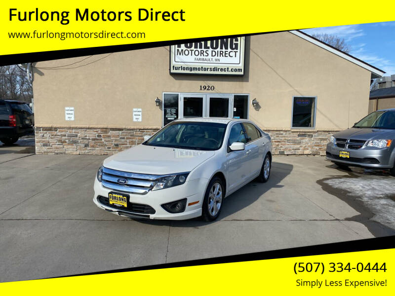 2012 Ford Fusion for sale at Furlong Motors Direct in Faribault MN