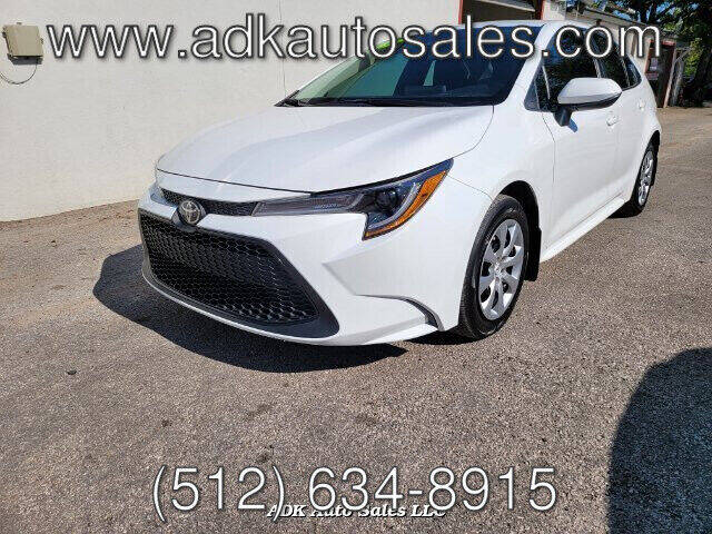 2020 Toyota Corolla for sale at ADK AUTO SALES LLC in Austin TX