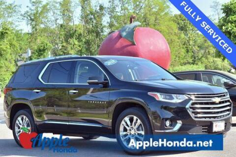 2018 Chevrolet Traverse for sale at APPLE HONDA in Riverhead NY