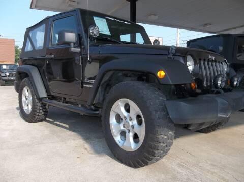 2013 Jeep Wrangler for sale at Broken Arrow Motor Co in Broken Arrow OK