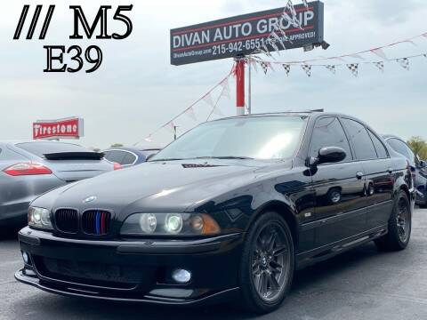 2003 BMW M5 for sale at Divan Auto Group in Feasterville Trevose PA