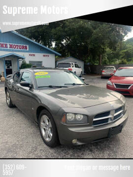 2009 Dodge Charger for sale at Supreme Motors in Tavares FL