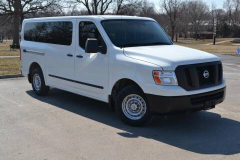 2016 Nissan NV Passenger for sale at GLADSTONE AUTO SALES    GUARANTEED CREDIT APPROVAL in Gladstone MO