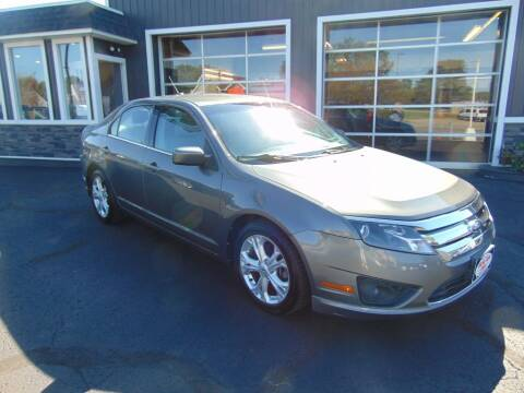 2012 Ford Fusion for sale at Akron Auto Sales in Akron OH