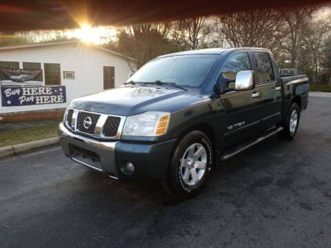 2006 Nissan Titan for sale at TR MOTORS in Gastonia NC