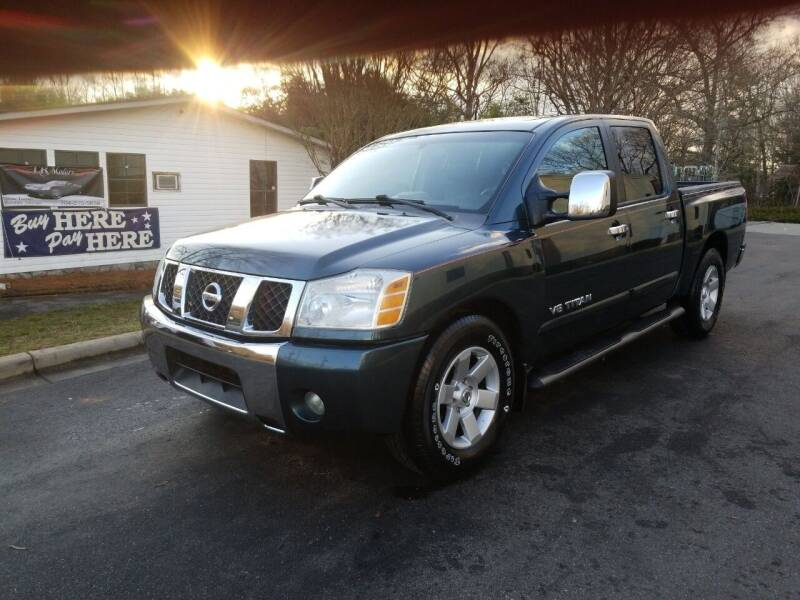 2006 Nissan Titan for sale at TR MOTORS in Gastonia NC
