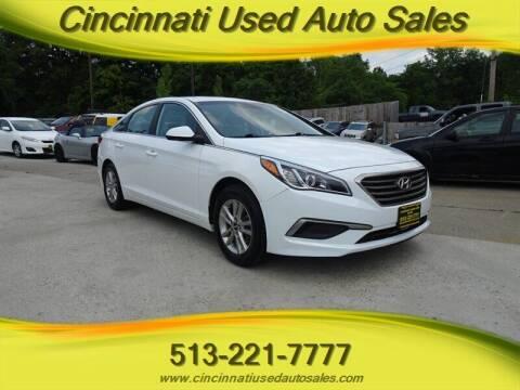 2017 Hyundai Sonata for sale at Cincinnati Used Auto Sales in Cincinnati OH