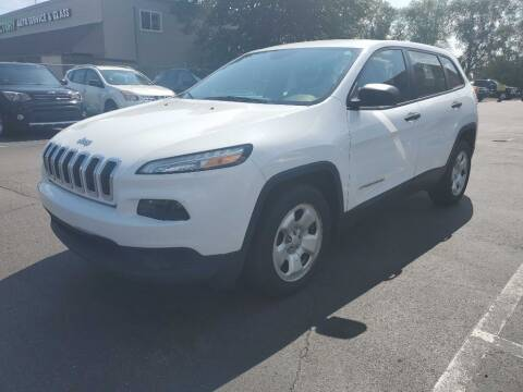 2015 Jeep Cherokee for sale at MIDWEST CAR SEARCH in Fridley MN