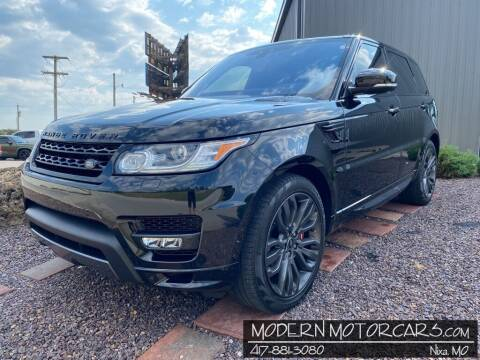 2017 Land Rover Range Rover Sport for sale at Modern Motorcars in Nixa MO
