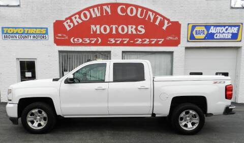 2017 Chevrolet Silverado 1500 for sale at Brown County Motors in Russellville OH