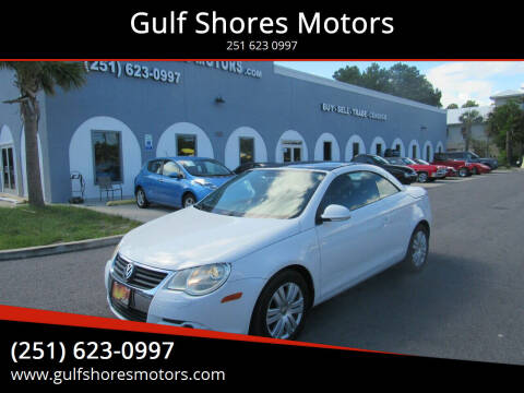 2008 Volkswagen Eos for sale at Gulf Shores Motors in Gulf Shores AL