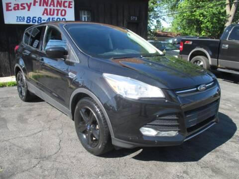 2014 Ford Escape for sale at EZ Finance Auto in Calumet City IL