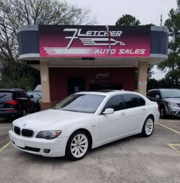 2007 BMW 7 Series for sale at Fletcher Auto Sales in Augusta GA