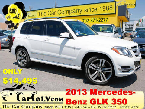 2013 Mercedes-Benz GLK for sale at The Car Company in Las Vegas NV
