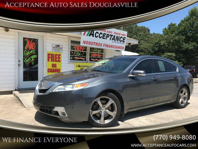 2009 Acura TL for sale at Acceptance Auto Sales Douglasville in Douglasville GA