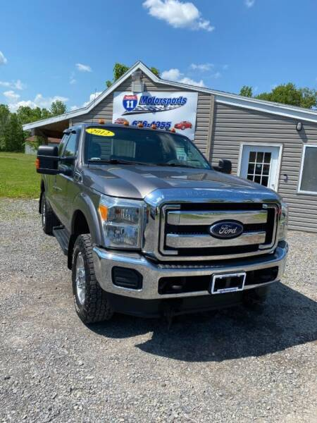 2012 Ford F-250 Super Duty for sale at ROUTE 11 MOTOR SPORTS in Central Square NY