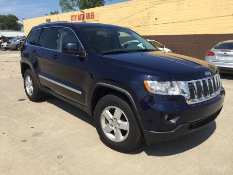 2012 Jeep Grand Cherokee for sale at City Auto Sales in Roseville MI