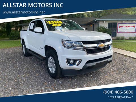 2017 Chevrolet Colorado for sale at ALLSTAR MOTORS INC in Middleburg FL