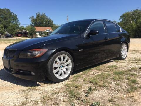 2007 BMW 3 Series for sale at Carzready in San Antonio TX