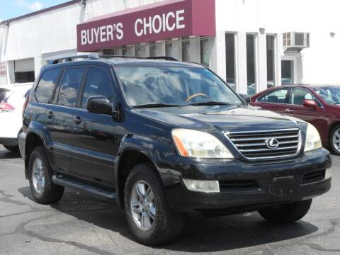 2005 Lexus GX 470 for sale at Buyers Choice Auto Sales in Bedford OH