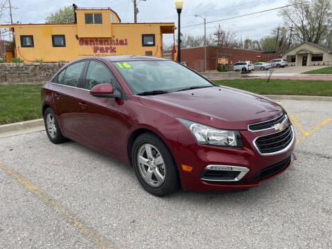 2016 Chevrolet Cruze Limited for sale at Midwest Motors 215 Inc. in Bonner Springs KS