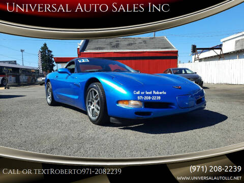 1998 Chevrolet Corvette for sale at Universal Auto Sales Inc in Salem OR