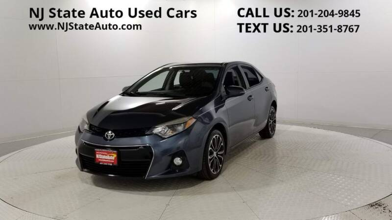 2016 Toyota Corolla for sale at NJ State Auto Auction in Jersey City NJ