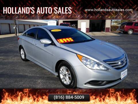2014 Hyundai Sonata for sale at Holland's Auto Sales in Harrisonville MO