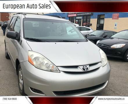 2007 Toyota Sienna for sale at European Auto Sales in Bridgeview IL