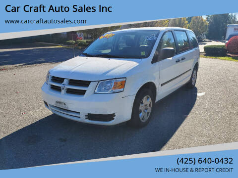 2008 Dodge Grand Caravan for sale at Car Craft Auto Sales Inc in Lynnwood WA