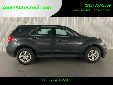2017 Chevrolet Equinox for sale at ZoomAutoCredit.com in Elba NY