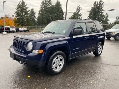 2017 Jeep Patriot for sale at Vista Auto Sales in Lakewood WA