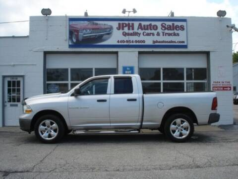 2011 RAM Ram Pickup 1500 for sale at JPH Auto Sales in Eastlake OH