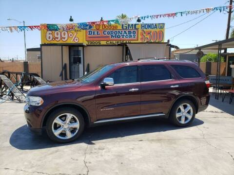 2012 Dodge Durango for sale at DEL CORONADO MOTORS in Phoenix AZ