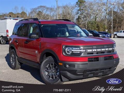 2021 Ford Bronco Sport for sale at BILLY HOWELL FORD LINCOLN in Cumming GA