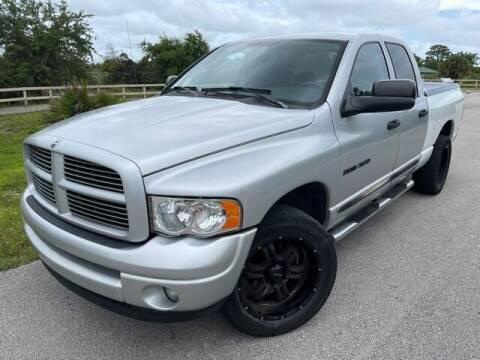 2004 Dodge Ram Pickup 1500 for sale at Deerfield Automall in Deerfield Beach FL