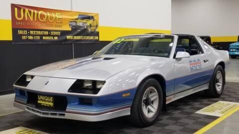 1982 Chevrolet Camaro for sale at UNIQUE SPECIALTY & CLASSICS in Mankato MN
