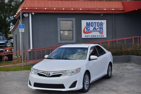 2014 Toyota Camry for sale at Motor Car Concepts II - Kirkman Location in Orlando FL