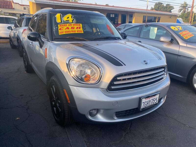 2014 MINI Countryman for sale at Crown Auto Inc in South Gate CA
