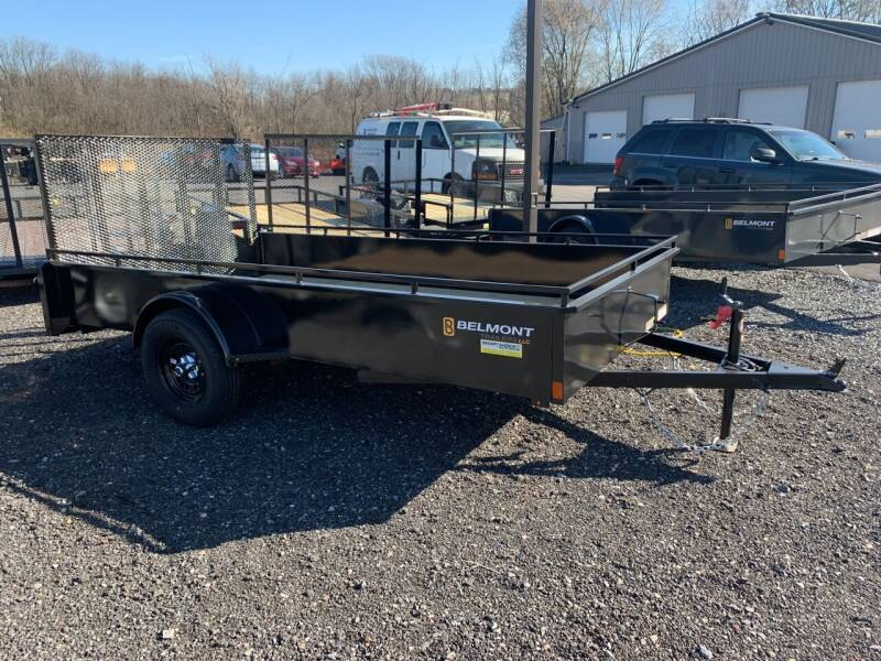 Belmont 6x12 Solid Side for sale at Smart Choice 61 Trailers in Shoemakersville PA