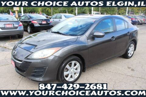 2010 Mazda MAZDA3 for sale at Your Choice Autos - Elgin in Elgin IL