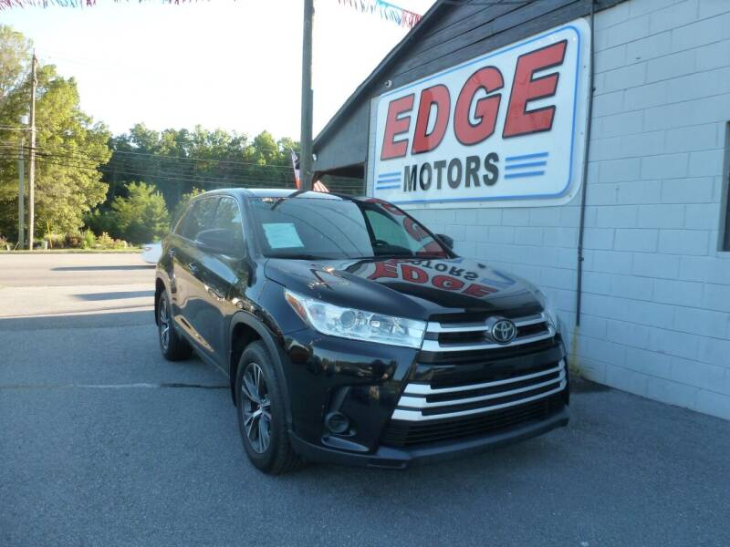 2017 Toyota Highlander for sale at Edge Motors in Mooresville NC