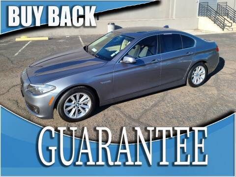 2015 BMW 5 Series for sale at Reliable Auto Sales in Las Vegas NV