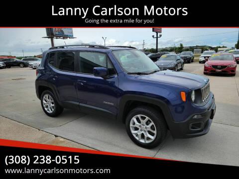 2016 Jeep Renegade for sale at Lanny Carlson Motors in Kearney NE