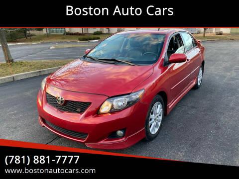 2010 Toyota Corolla for sale at Boston Auto Cars in Dedham MA