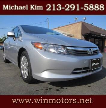 2012 Honda Civic for sale at Win Motors Inc. in Los Angeles CA